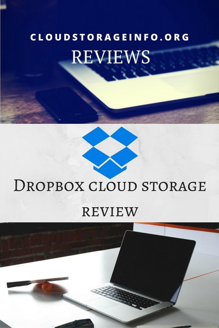 DropBox Cloud Storage Review