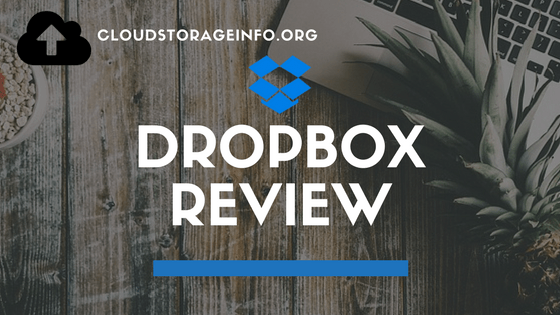 Dropbox Cloud Storage - Pricing & Plans - Review May 2019