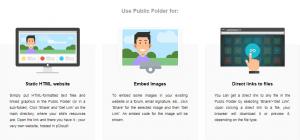 pCloud Public Folder