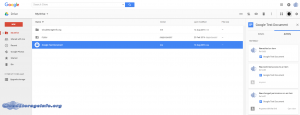 Google Drive Interface