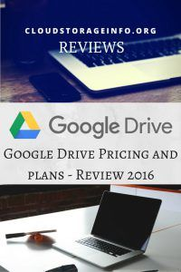 Google Drive Pricing & Plans - Review