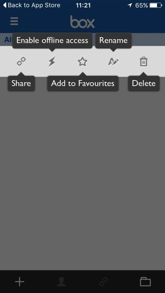 Box Cloud Storage Review Iphone app