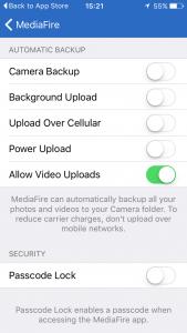 MediaFire Mobile App