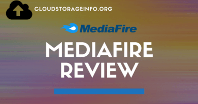 MediaFire Cloud Storage Review