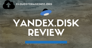 Yandex.Disk Review