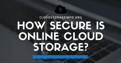 How Secure Is Online Cloud Storage
