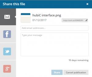 hubiC share