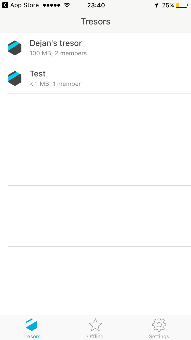 Tresorit App