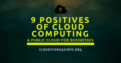 9 positives of cloud computing