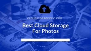 Best Cloud Storage For Photos