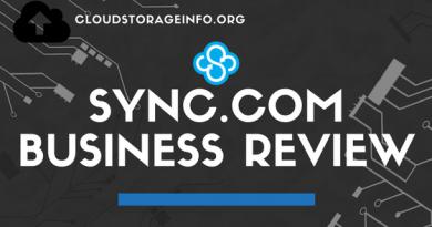 Sync.com Business Review Logo