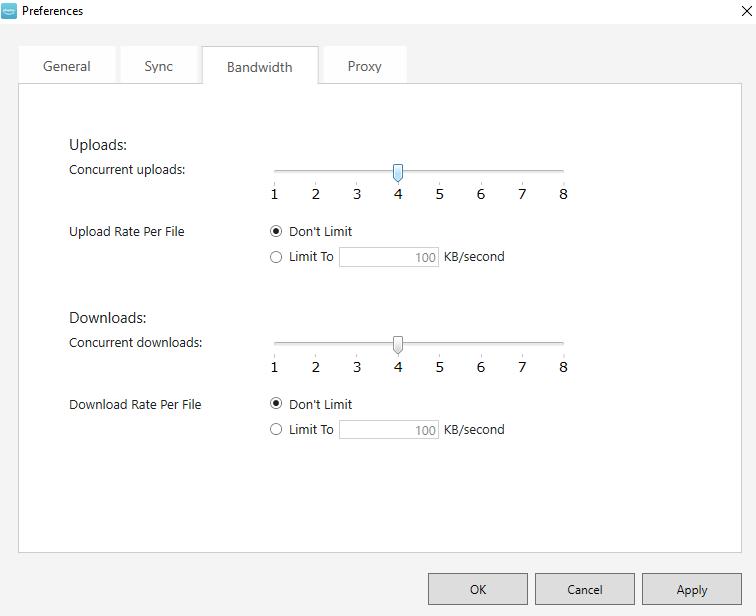 Amazon Drive Review Limit Bandwidth