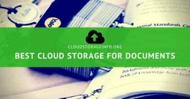 Best Cloud Storage For Documents