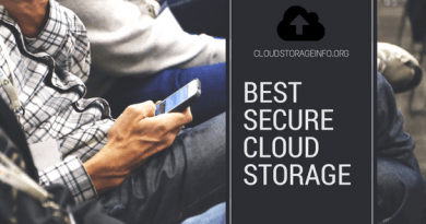 Best Secure Cloud Storage