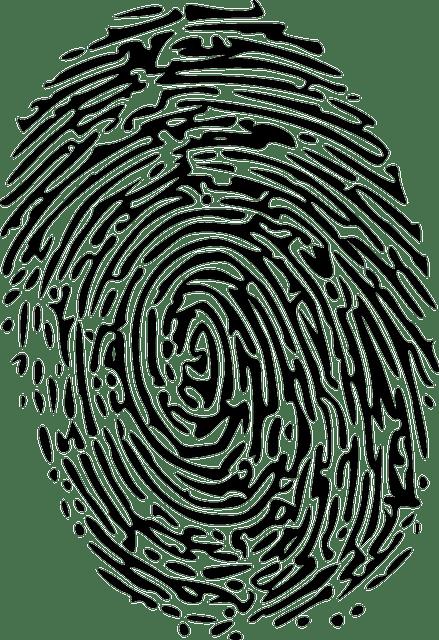 Child internet security fingerprint