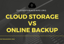 Cloud Storage Vs Online Backup