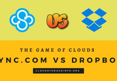 Sync.com vs Dropbox