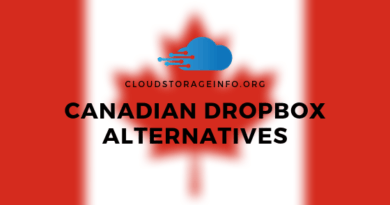 Canadian Dropbox Alternatives