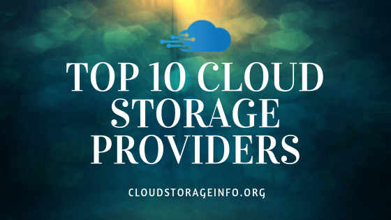 Top 10 Cloud Storage Providers