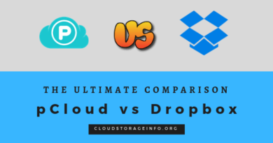 pCloud vs Dropbox