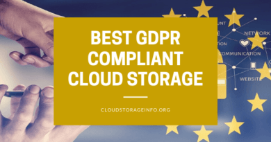 Best gdpr compliant cloud storage