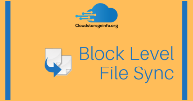 Block Level File Sync