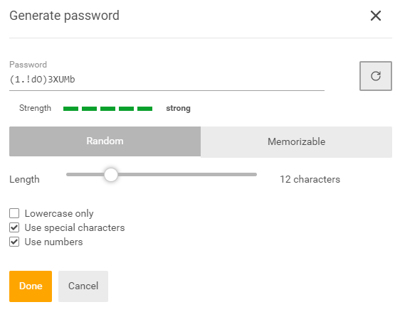 SecureSafe Review Generate Password