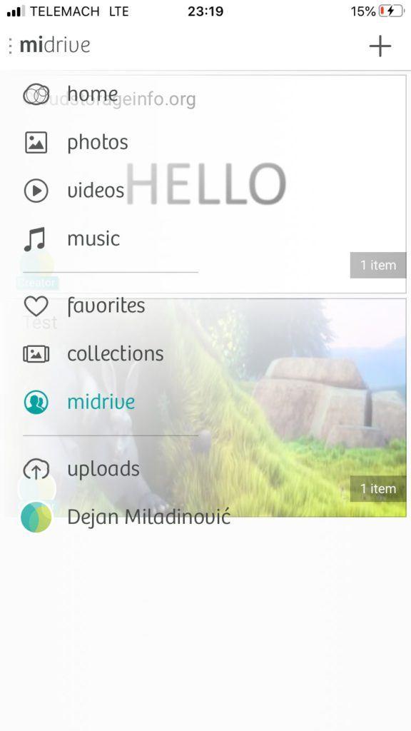 MiMedia Review App