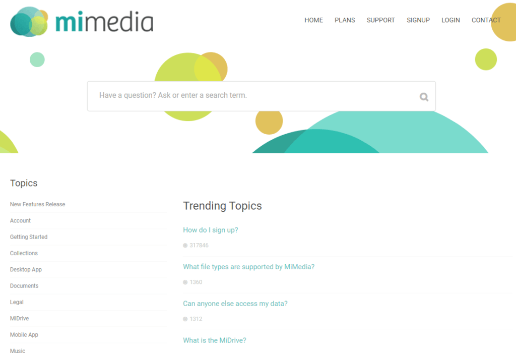 MiMedia Review Support