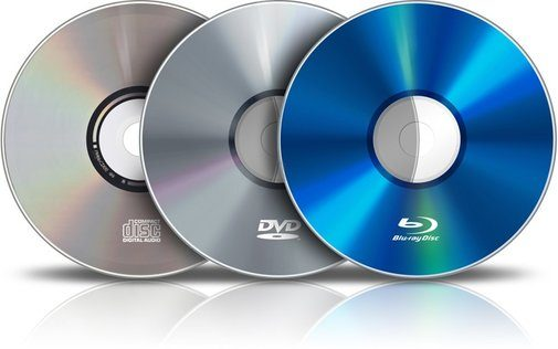 4 Types Of Computer Data Storage - Optical media storage