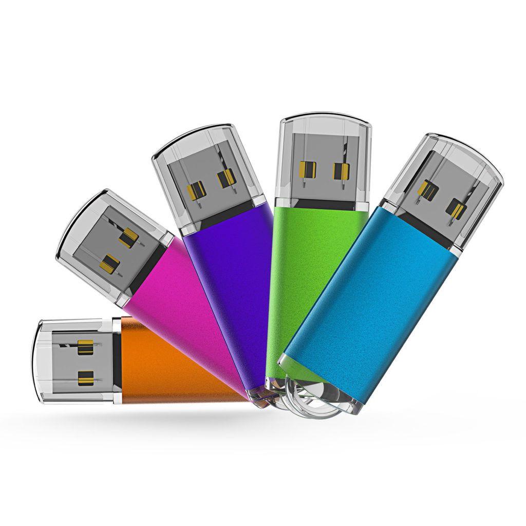 4 Types Of Computer Data Storage - USB Flash Drive