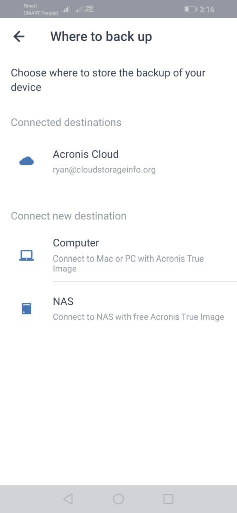 Acronis True Image Review - Mobile Screenshot 1