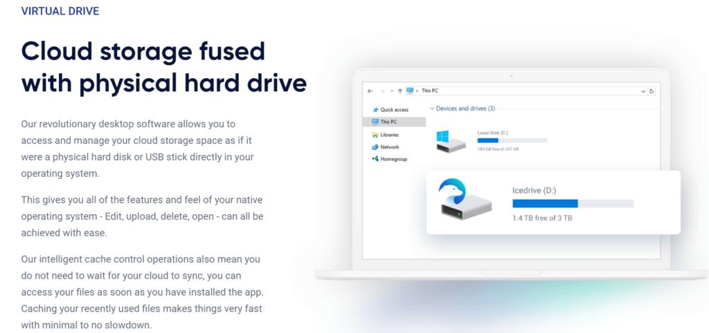 Best Cheap Cloud Storage - IceDrive