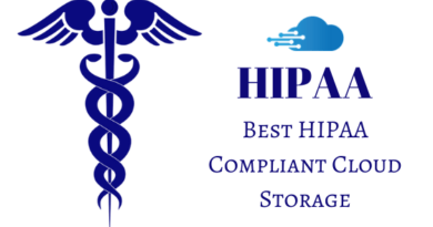 Best HIPAA compliant cloud storage