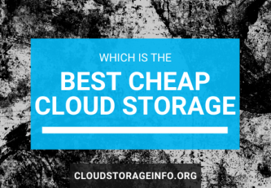 Best cheap cloud storage