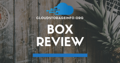Box Cloud Storage Review
