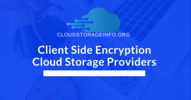 Client Side Encryption Cloud Storage Providers