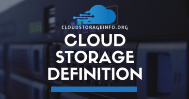 Cloud Storage Definition
