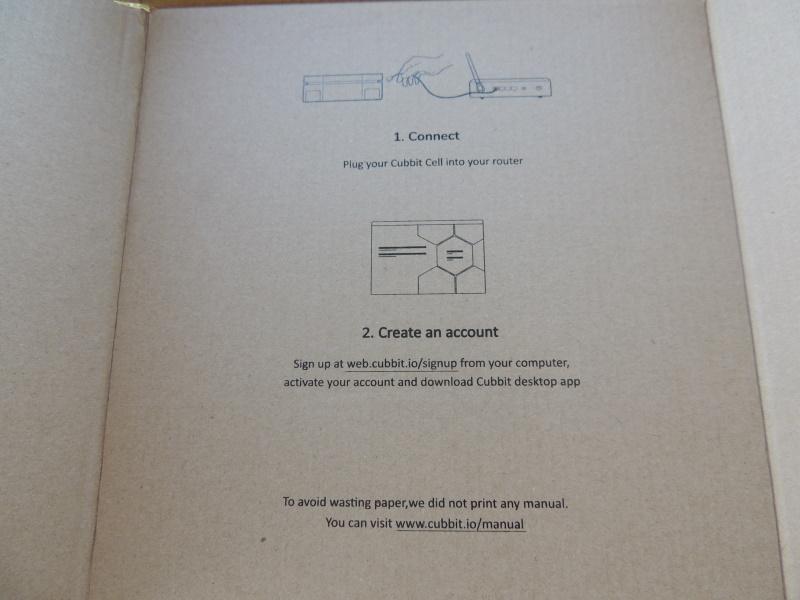 Cubbit Review Cell Box Instructions