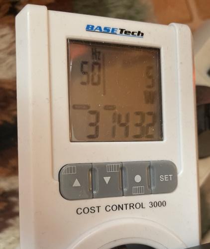 Cubbit Review Electricity Consumption