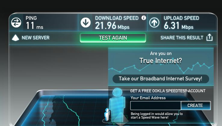 How To Back Up To The Cloud - speed test