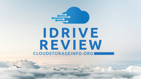 IDrive review