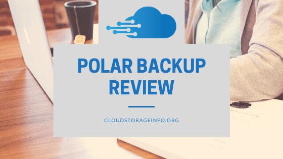 Polar Backup Review