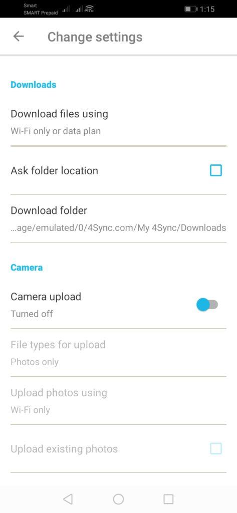 4Sync Review - Mobile Screenshot 3