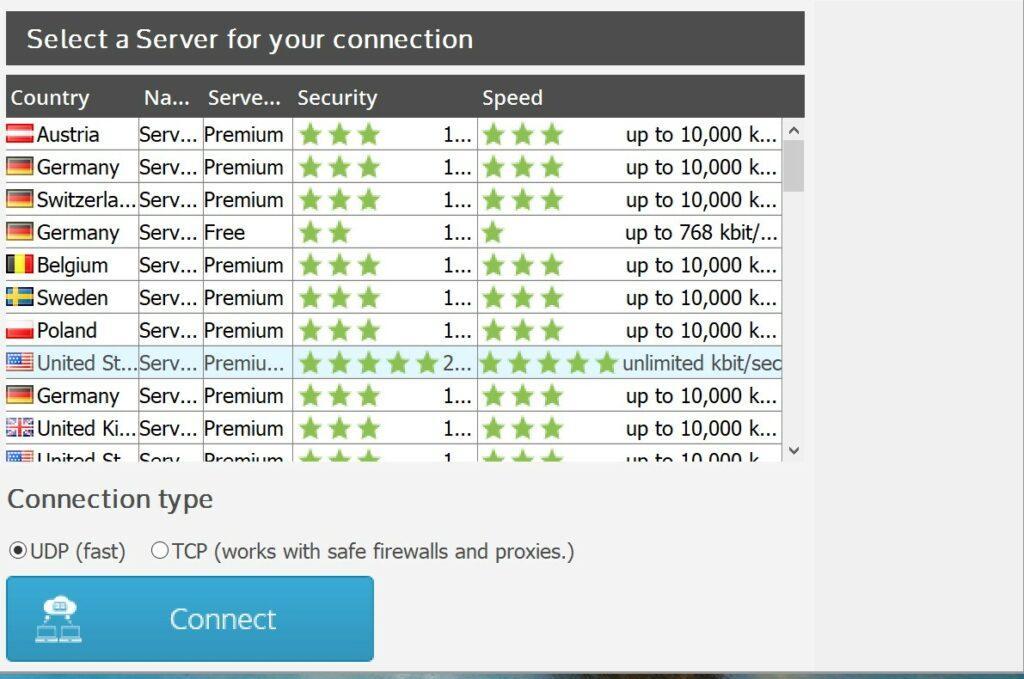 Shellfire VPN Review - Security 1