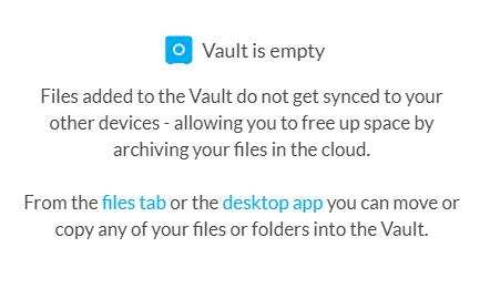 Sync.com Vault