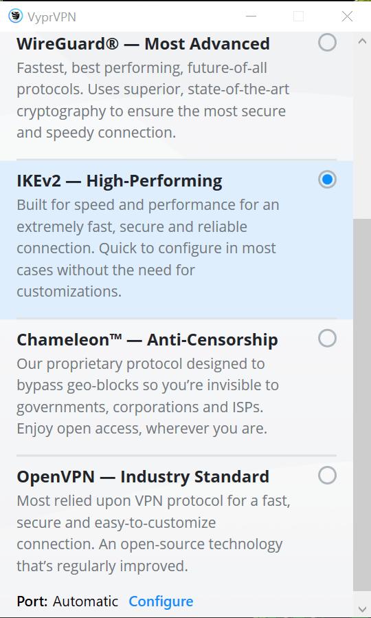 VyprVPN Review - Security 0002341