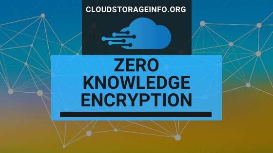 Zero Knowledge Encryption