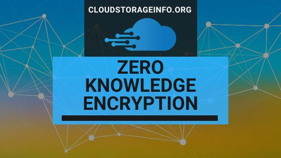 Zero Knowledge Encryption