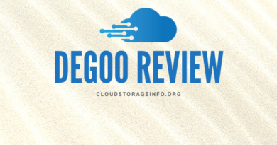 Degoo Review
